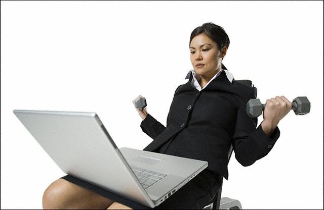 exercising-at-work